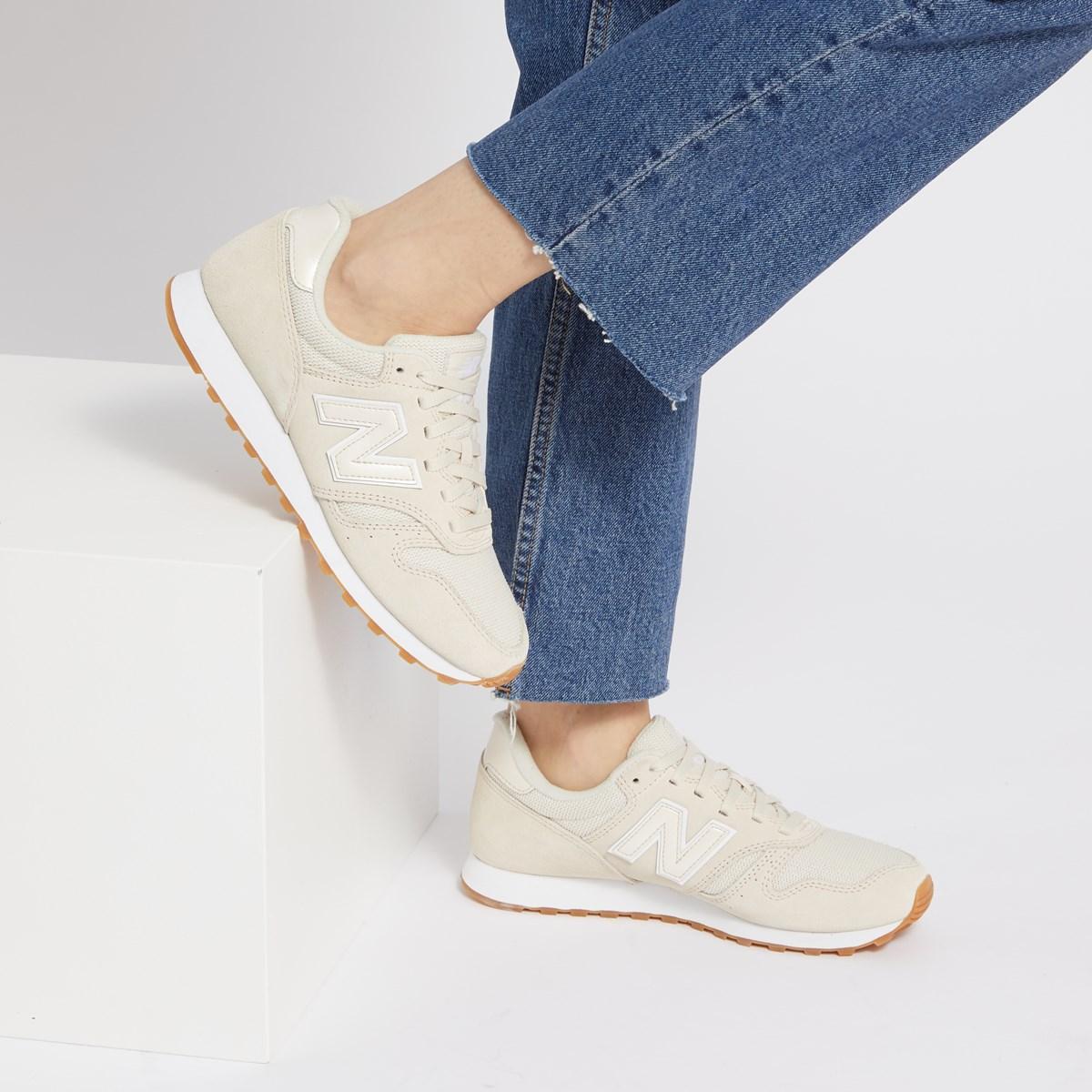Women's 373 Sneaker in Beige