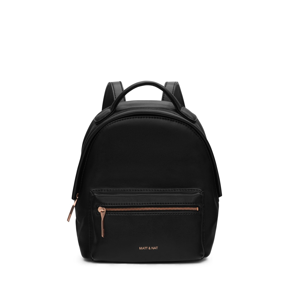Bali Mini Vegan Backpack in Black