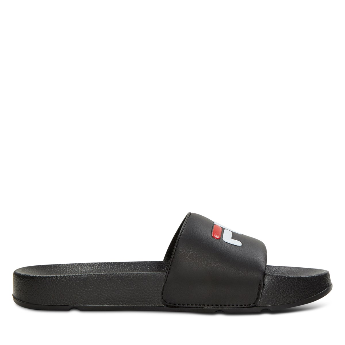 Women's Drifter Slide Sandal in Black