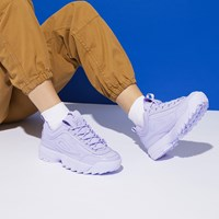 Women's Disruptor II Premium Sneakers in Lilac