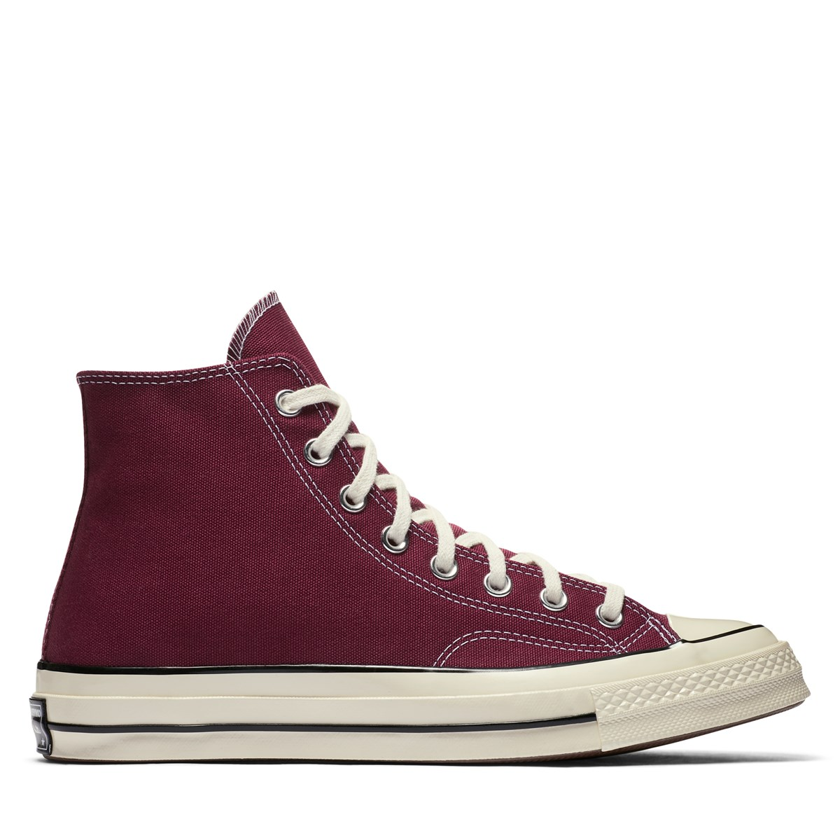 Chuck 70 Vintage Hi Sneakers in Dark Burgundy