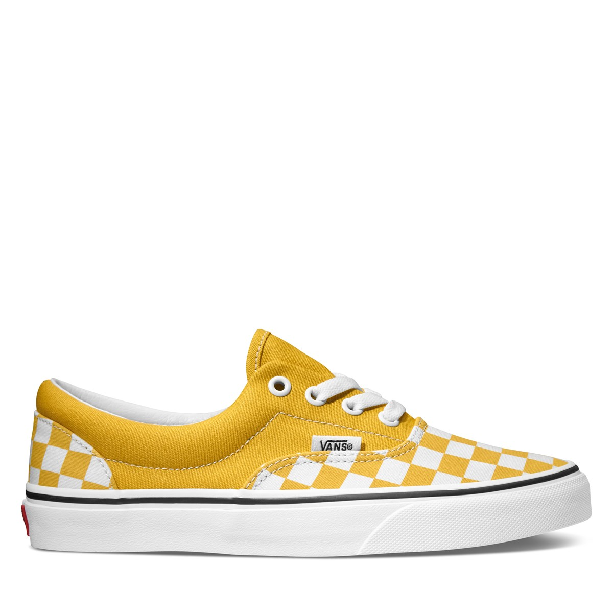 Women's Checkerboard Era Sneakers in Yellow