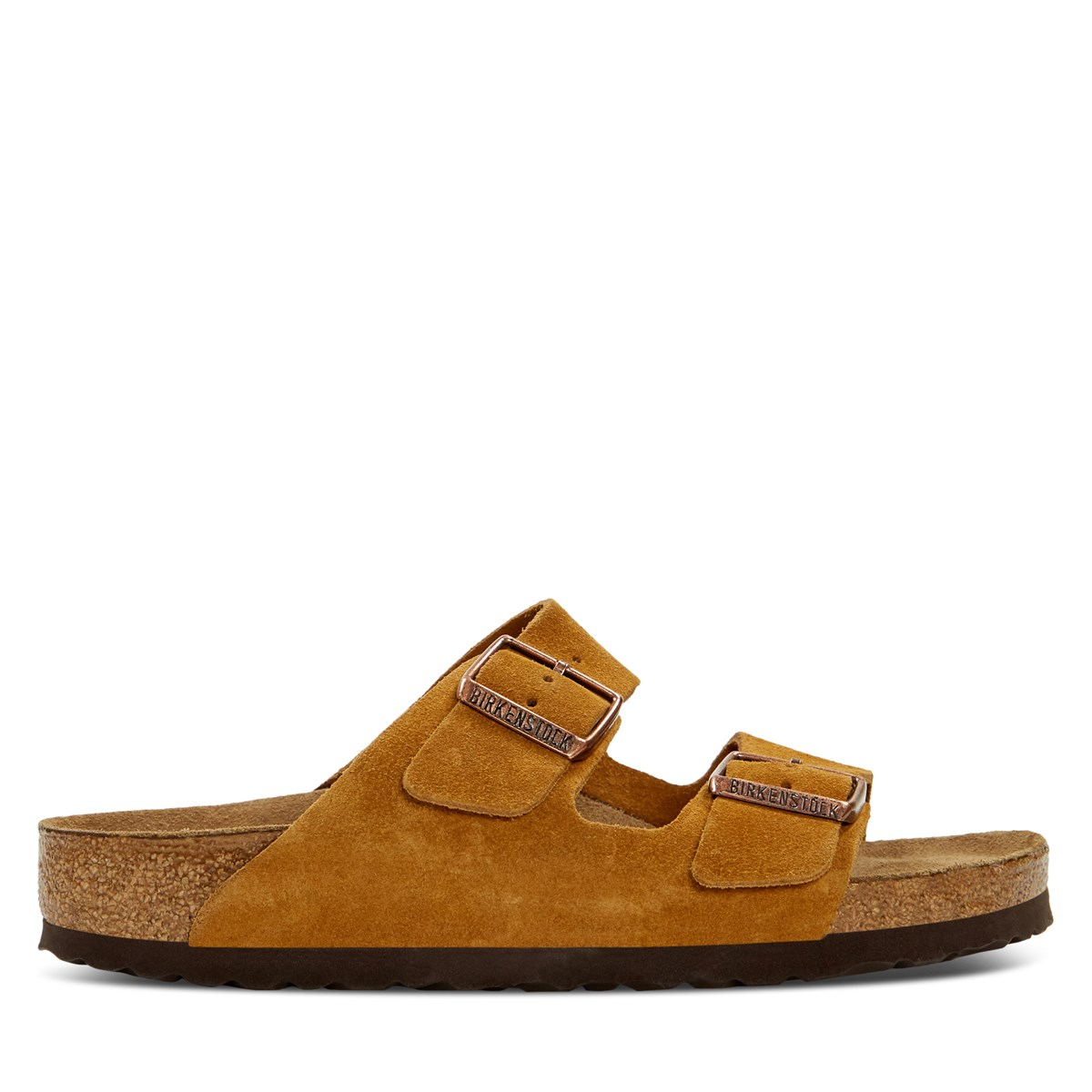 Women's Arizona Soft Sandals in Mink