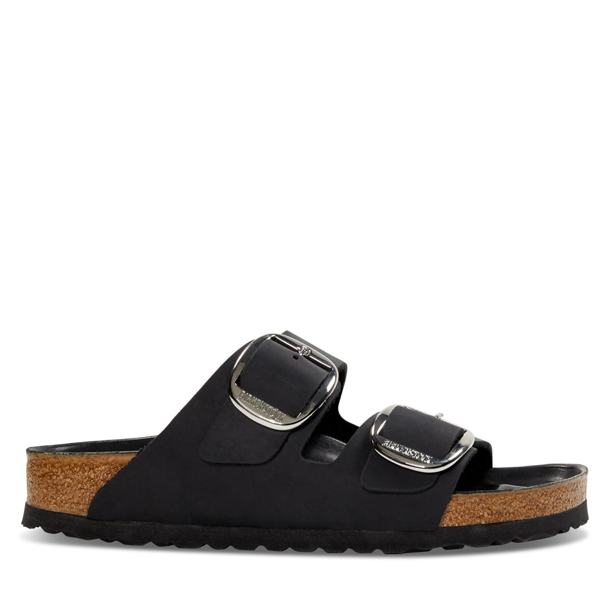 Women's Arizona Big Buckle Sandal in Black
