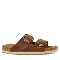 Women's Arizona Big Buckle Sandals in Cognac