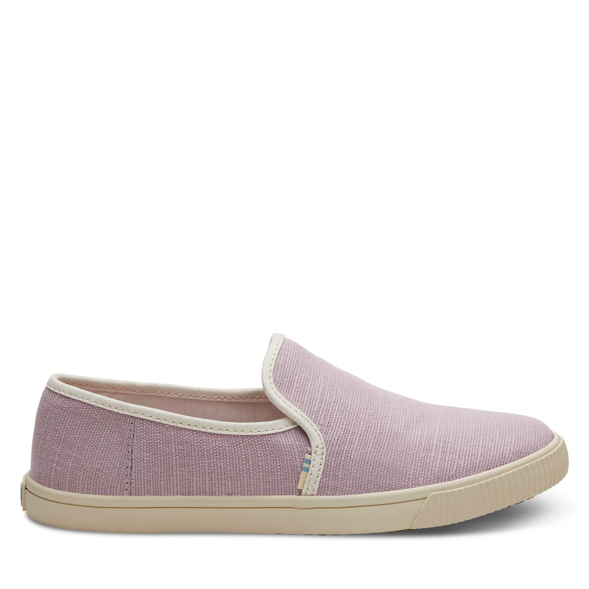 Women's Vegan Clemente Heritage Slip-On Shoes in Lilac