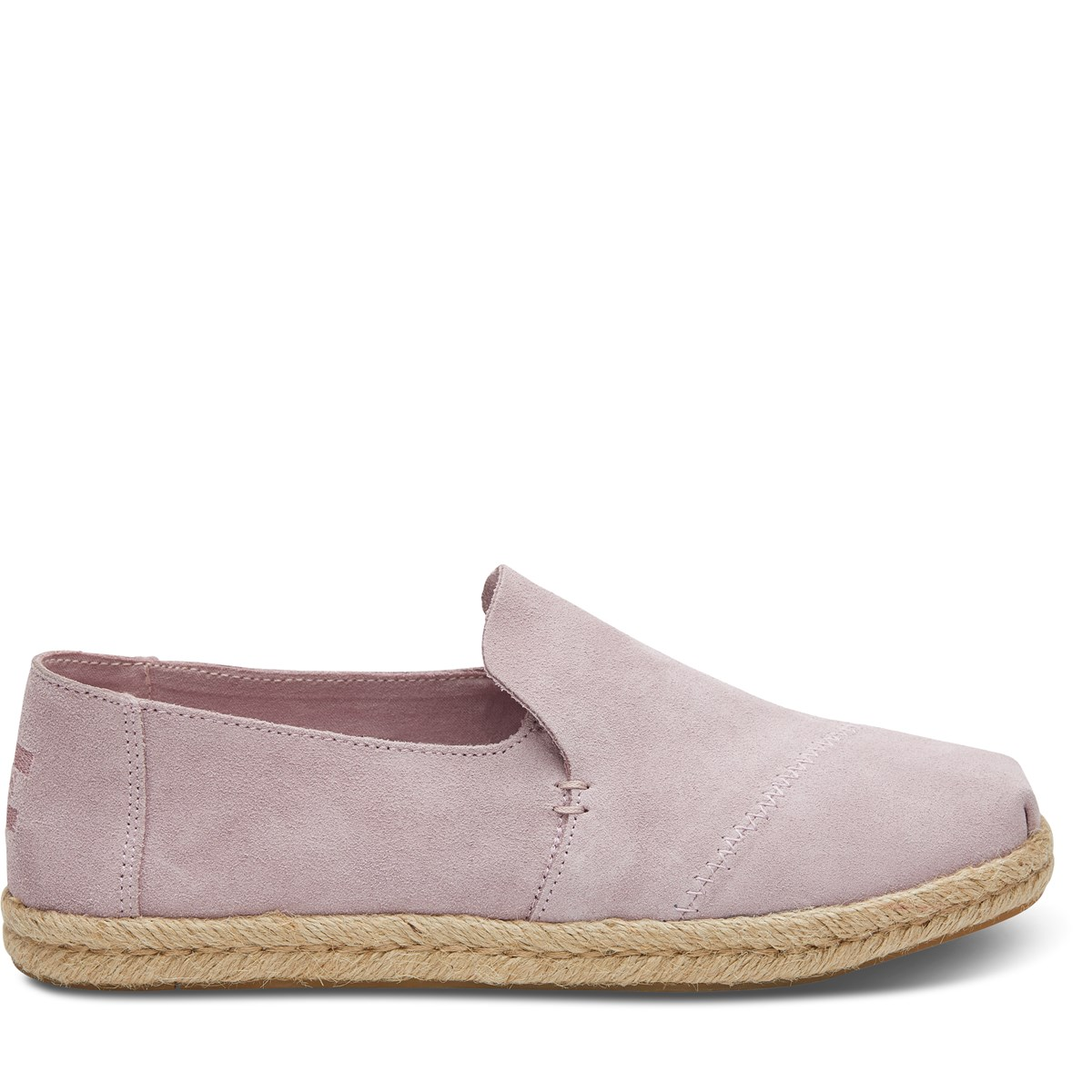 Women's Deconstructed Alpargata Slip-on Espadrille in Lilac
