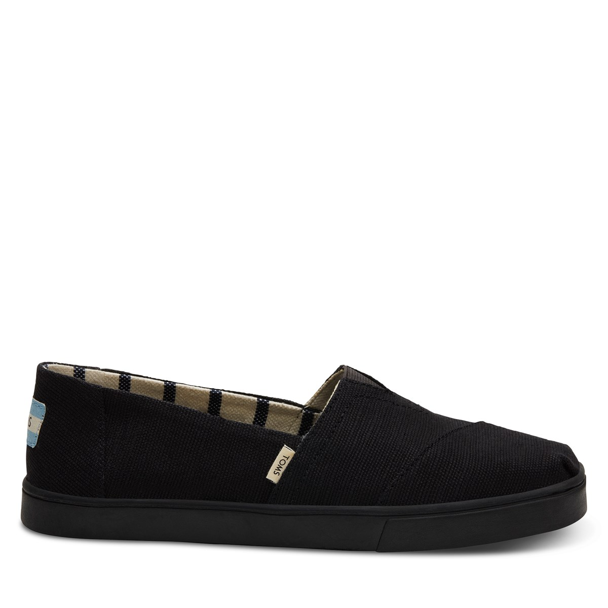 Women's Alpargata Cupsole Slip-Ons in Black