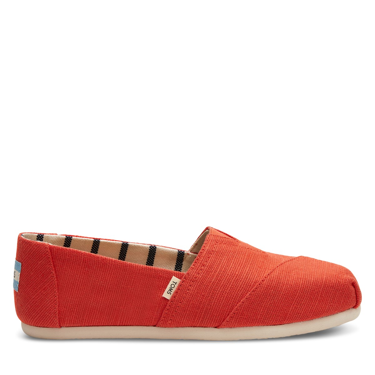 Women's Alpargata Classic Slip-on in Red