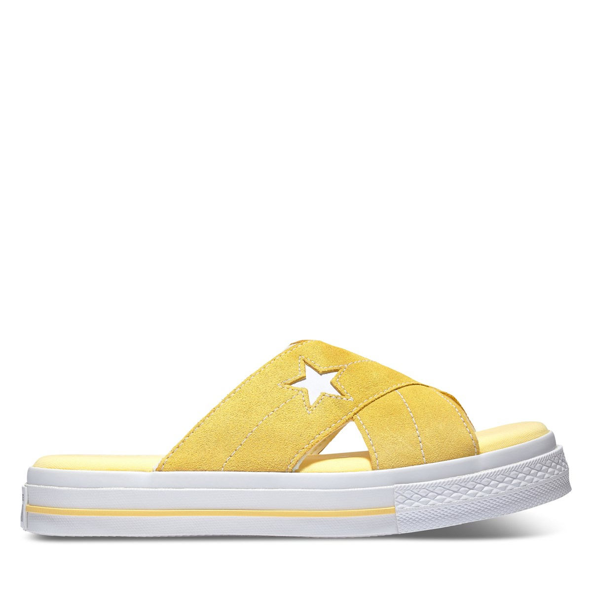 Women's One Star Sandal in Yellow