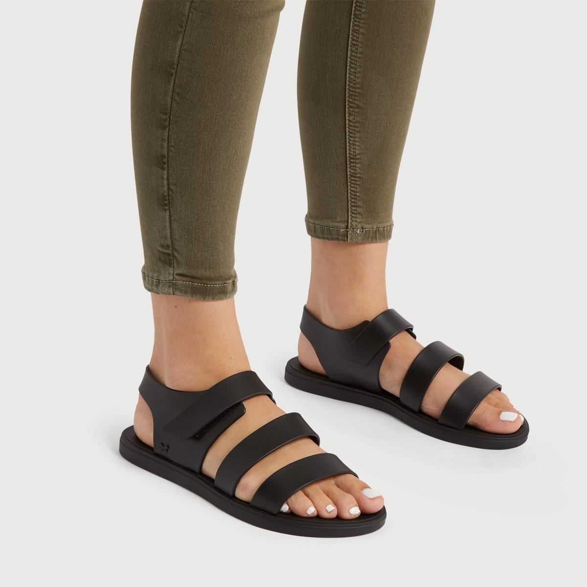 Sandales Athena noires pour femmes