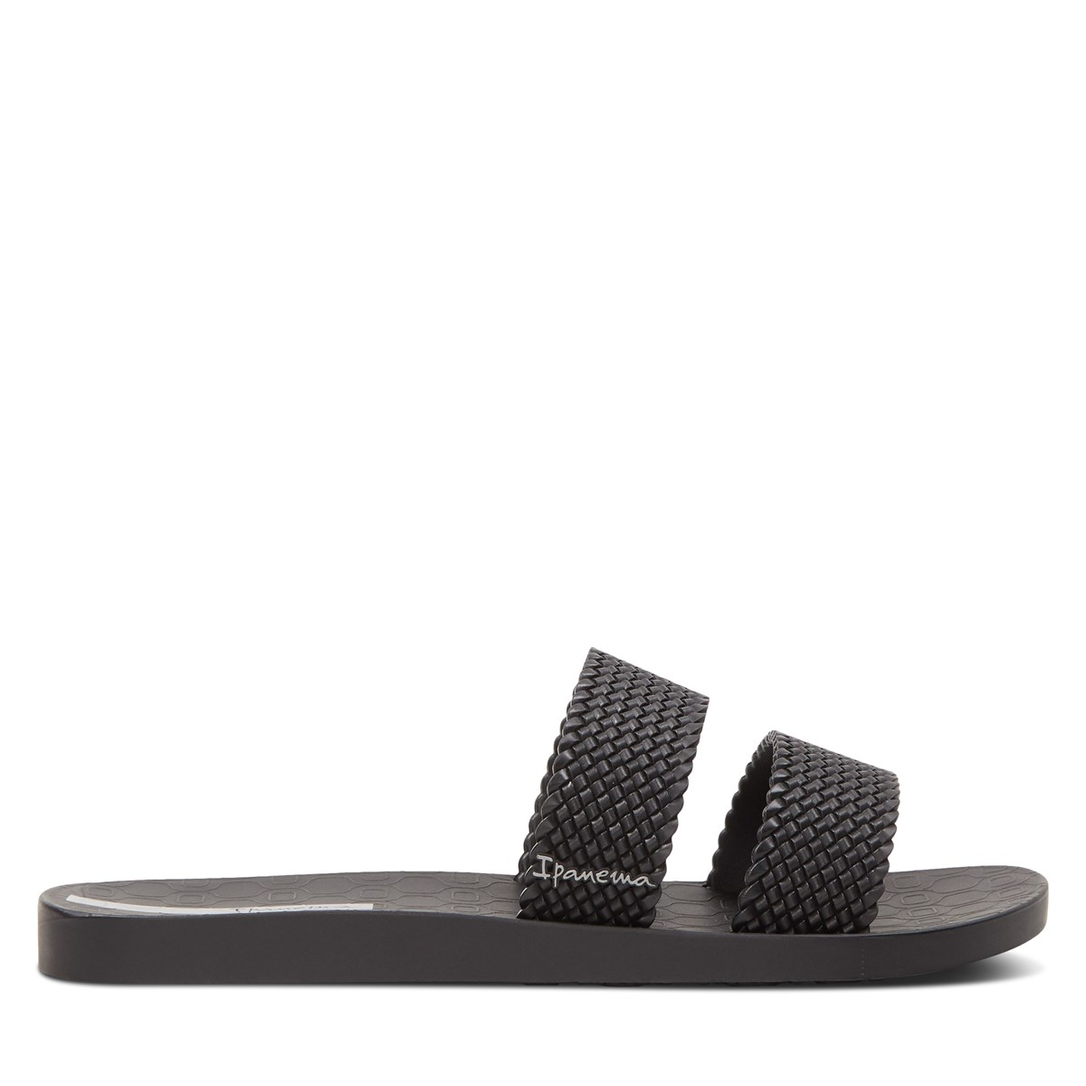 Women's City Slides in Black