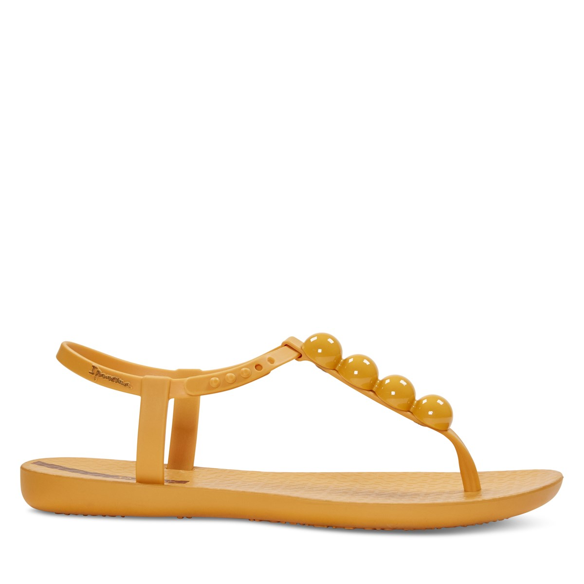 Women's Pearl Sandal in Yellow