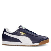 Men's Roma Classic Sneakers in Navy