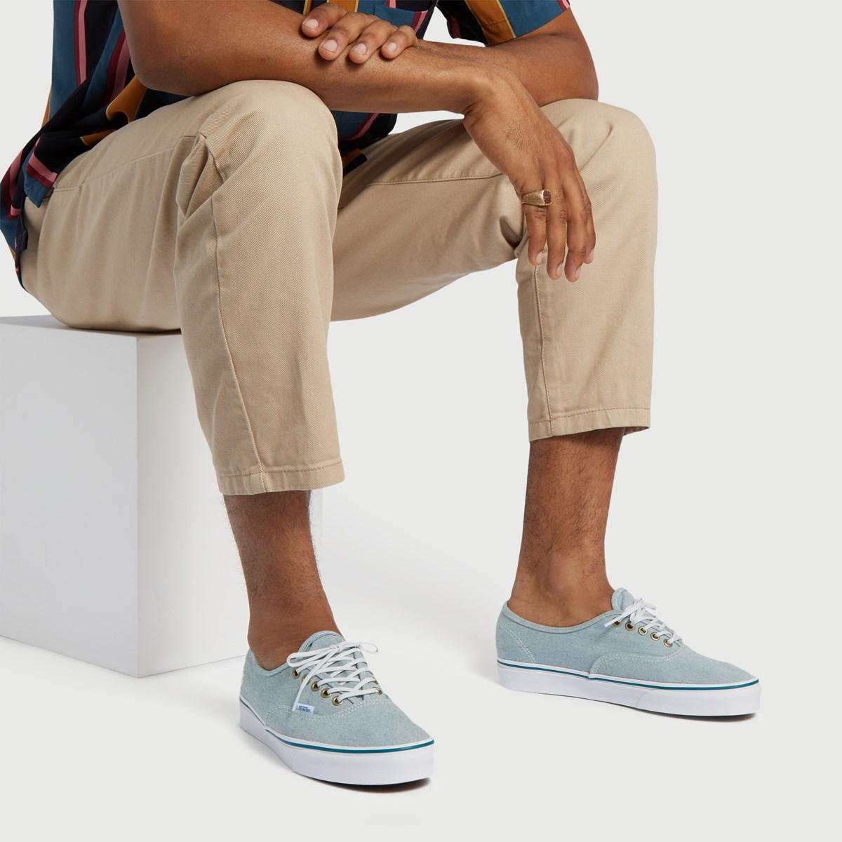 Men's Authentic P.E.T Sneaker in Blue