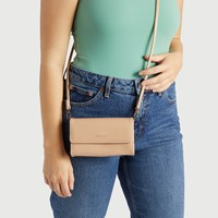 Drew Crossbody in Tan