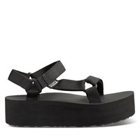 Women's Platform Universal Sandal in Black