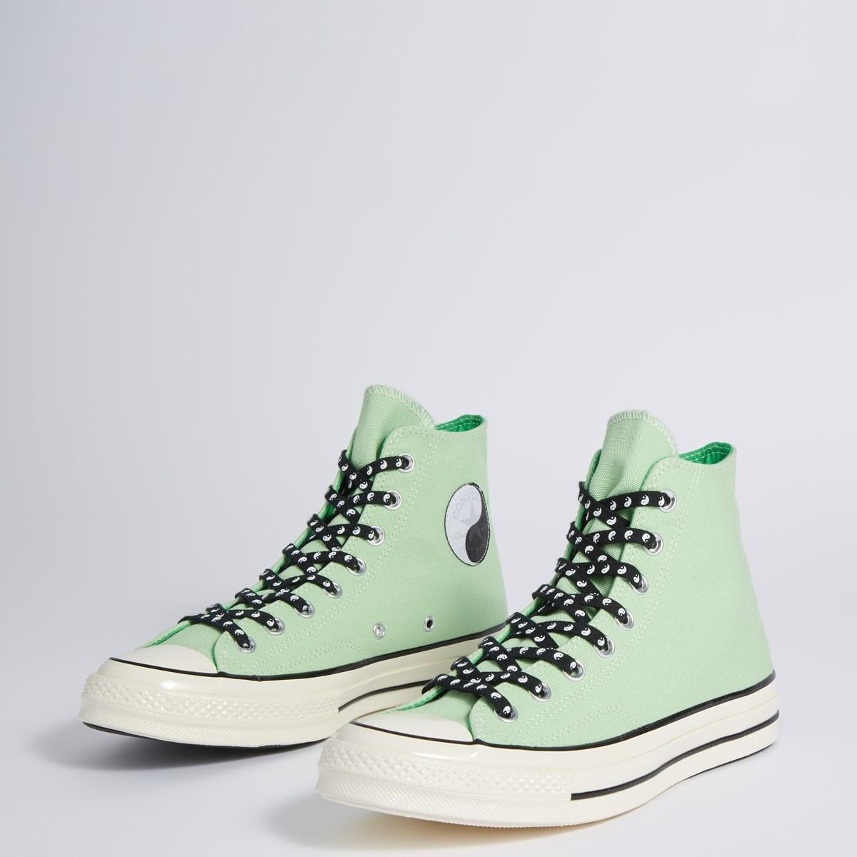 Men's Chuck 70 Vintage Hi Sneakers in Green