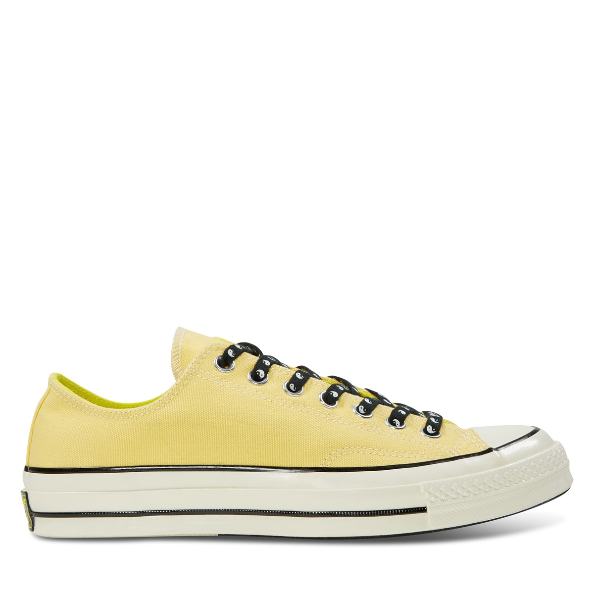 Men's Chuck 70 Vintage OX Sneakers in Yellow
