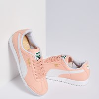 Women's Roma Basic Sneakers in Peach