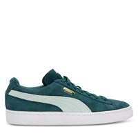 Women's Suede Classic Sneaker in Green