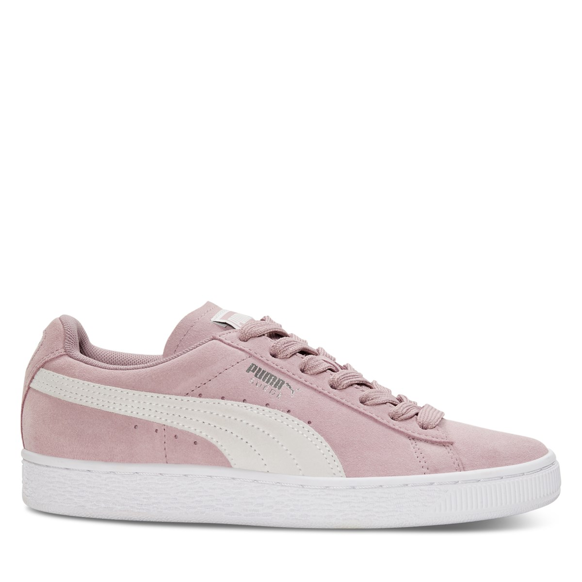 Women's Classic Sneakers in Rose Suede