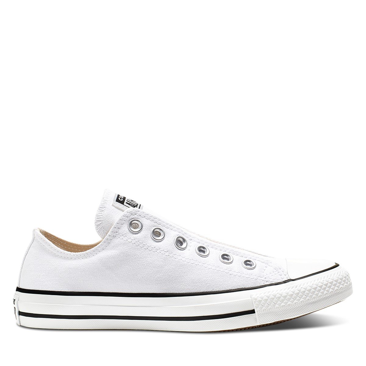 Men's Chuck Taylor All Star Slip Sneakers in White