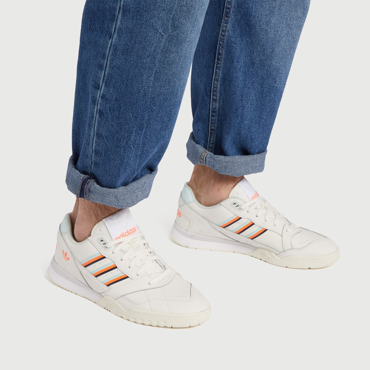 Baskets AR Trainer blanches pour hommes