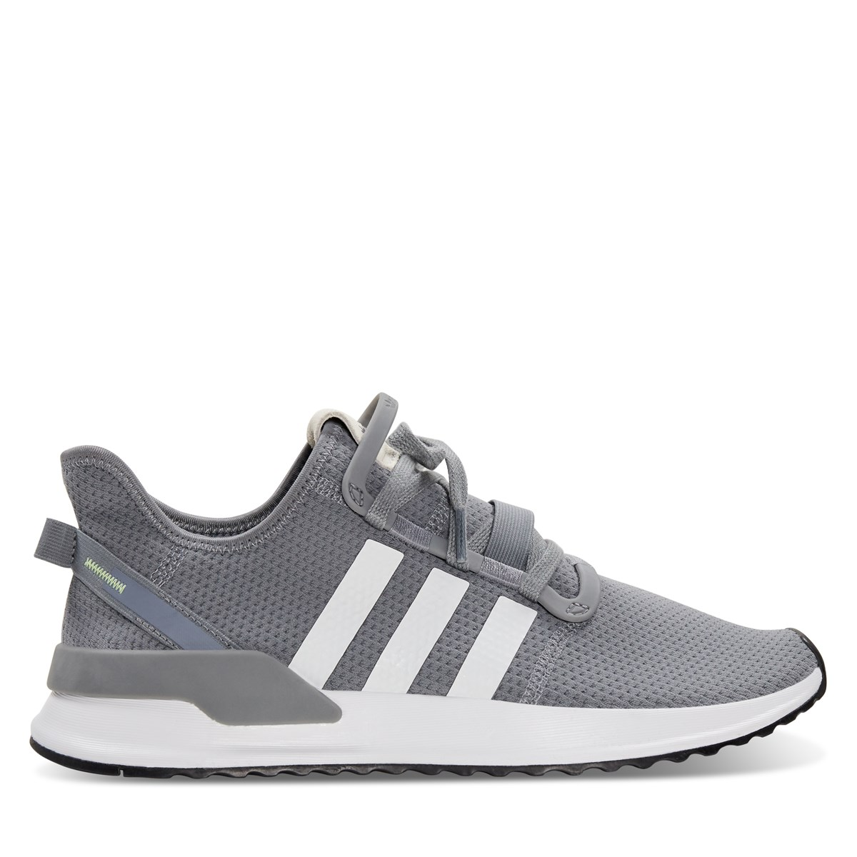 Men's U Path Run Sneaker in Grey