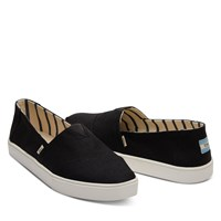 Chaussures Alpargata noires pour hommes