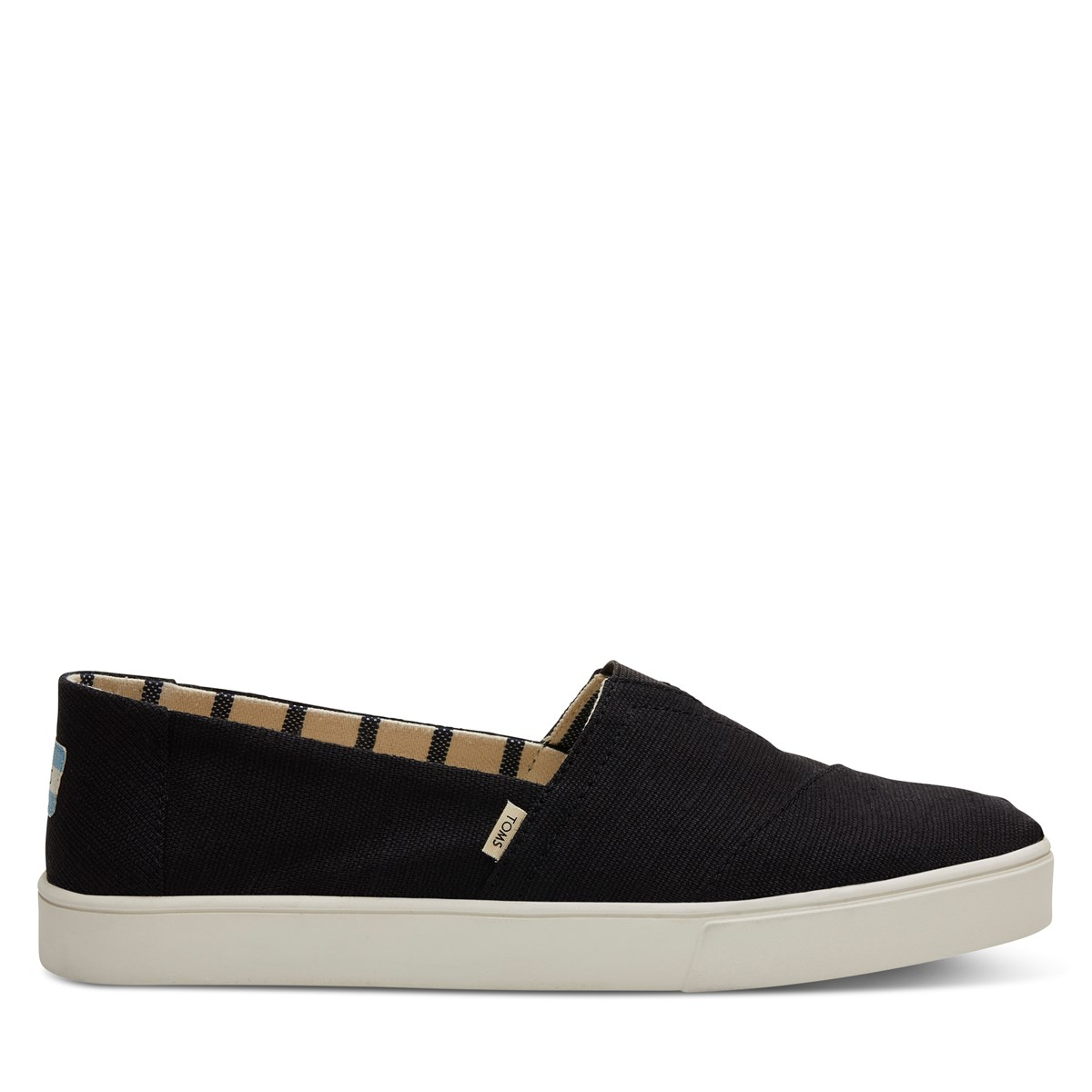 Men's Alpargata Cupsole Slip-on in black