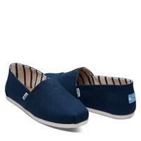 Chaussures Alpargatas classiques bleues pour hommes