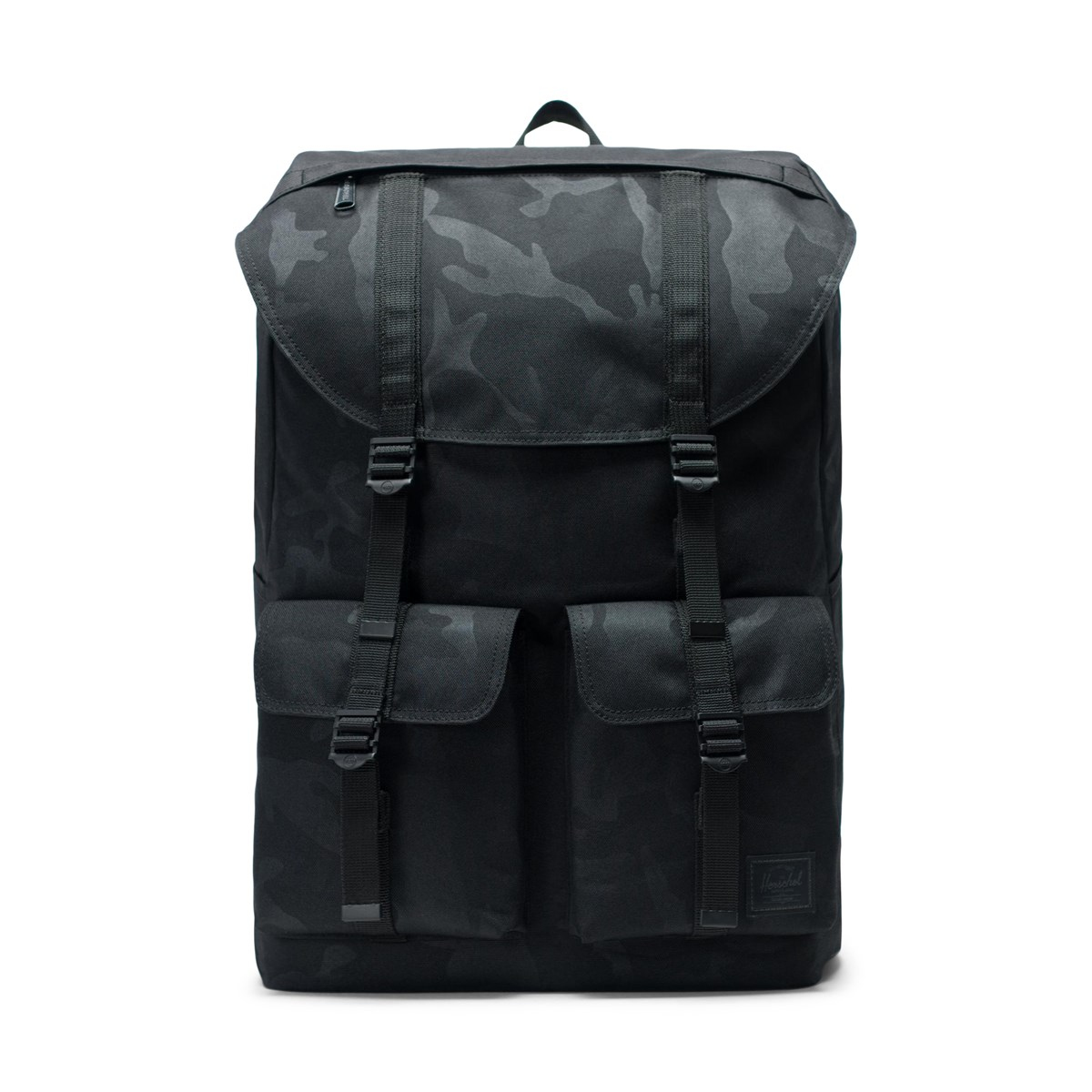 Buckingham Backpack in Black Camo