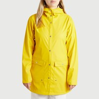 Women's Parka Coat in Yellow