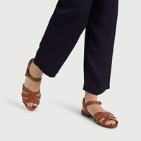 Women's Caro Sandal in Cognac