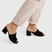 Women's Juliet Mule in Black