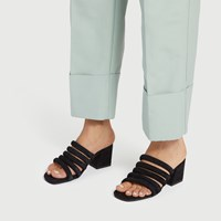 Women's Poppy Sandal in Black