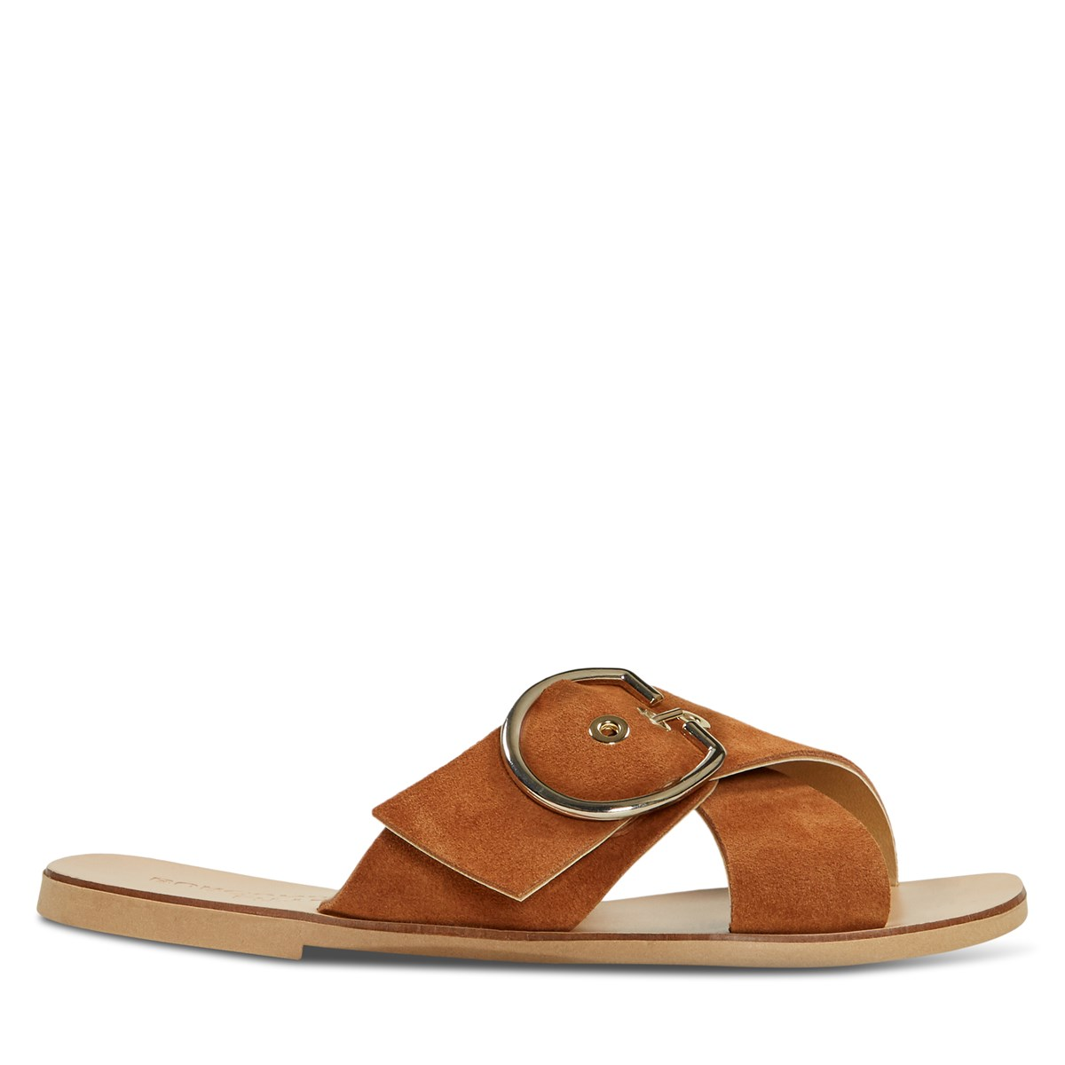 Women's Allegra Slide Sandals in Rust