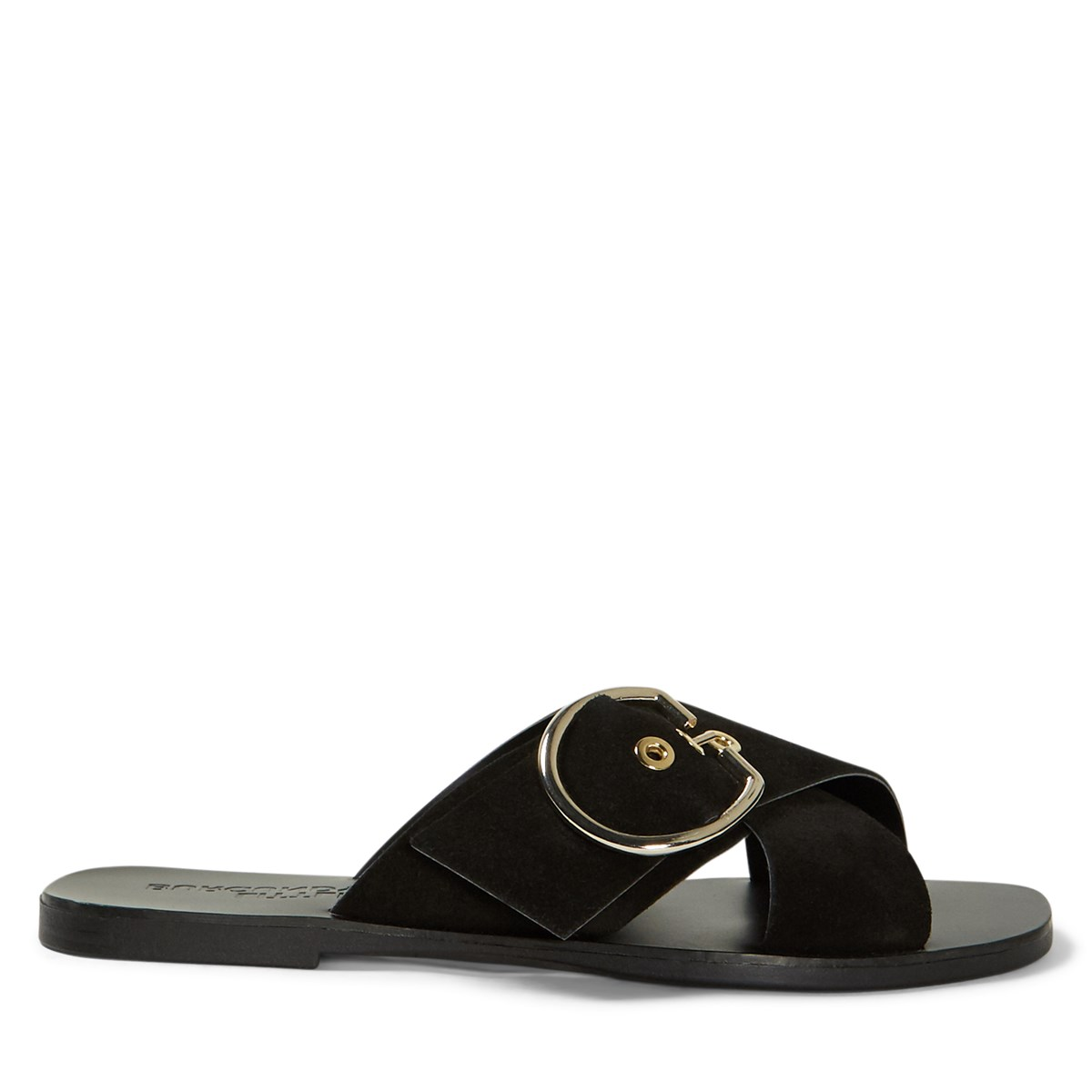 Women's Allegra Slide Sandals in Black