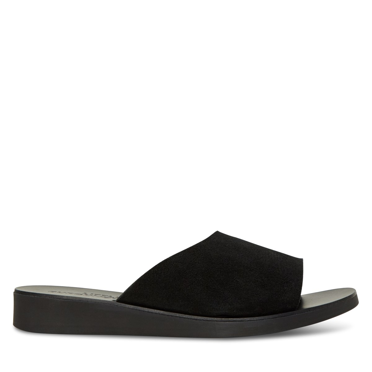 Women's Maeve Slide Sandals in Black