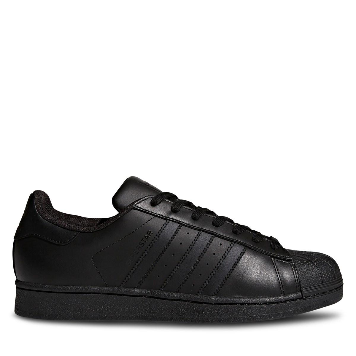 Men's Superstar Sneakers in Black