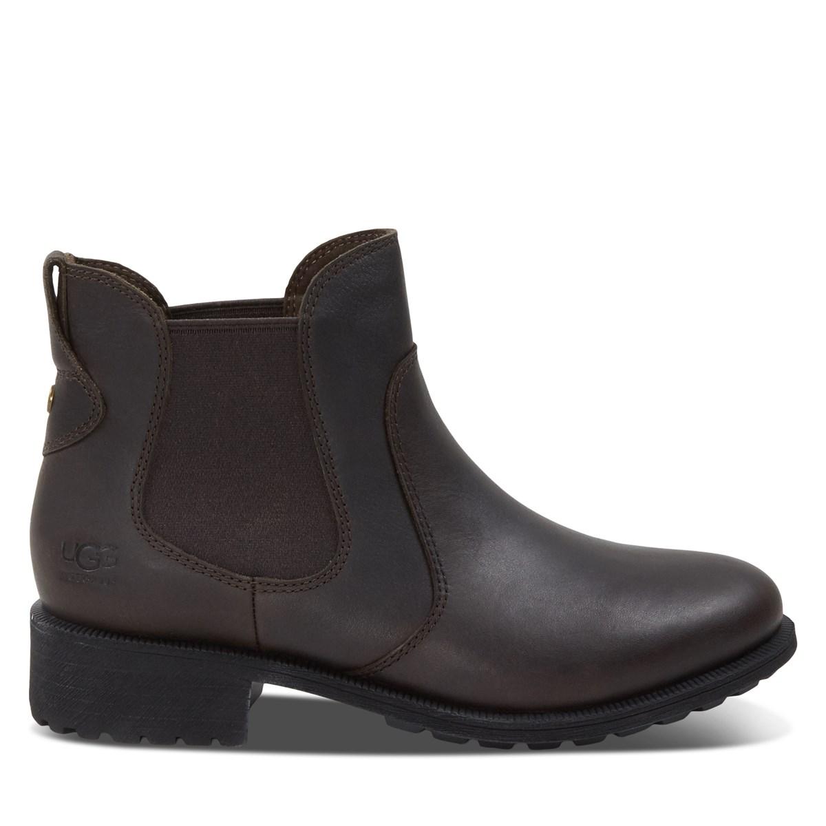 Women's Bonham III Waterproof Slip-On Boots in Brown