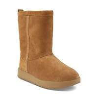 Women's Classic Short Waterproof Boots in Beige