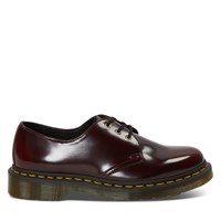 Women's Vegan 1461 Oxford Rub Off Vegan Shoes in Burgundy