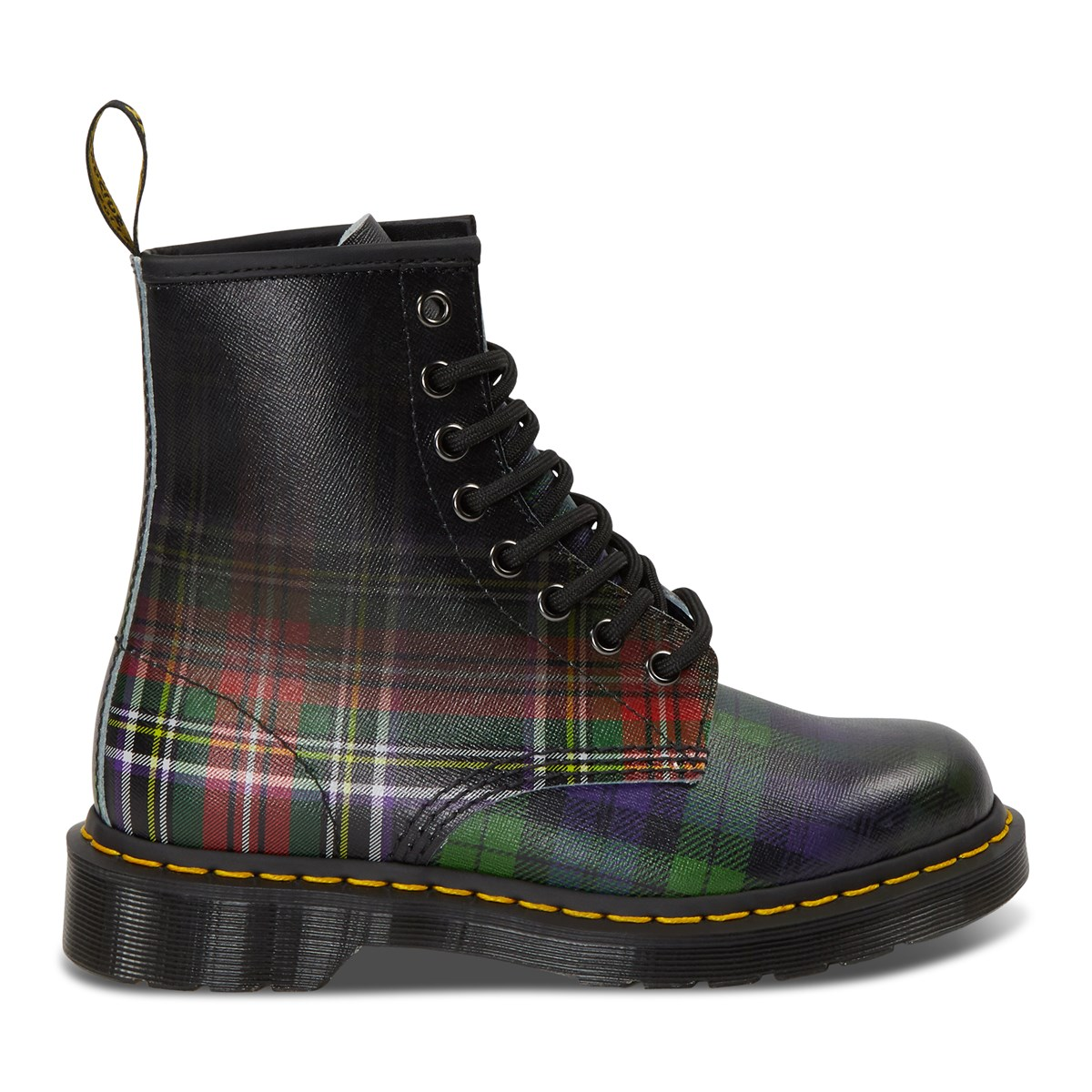 Women's 1460 Tartan Backhand Plaid Boots