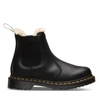 Women's 2976 Leonore Faux Fur Lined Chelsea Boots in Black