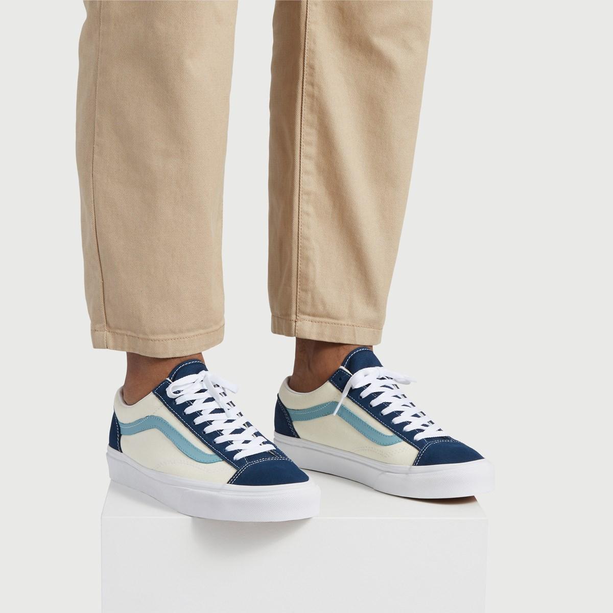 Men's Style 36 Retro Sport Sneakers in Blue