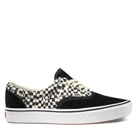 Men's ComfyCush Era Tear Check Sneakers in Black