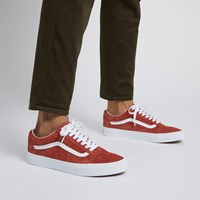 Men's Old Skool Sneakers in Burnt Pink