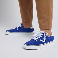 Men's Sport Suede Sneakers in Blue
